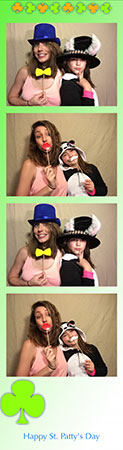 st patty's photo strip